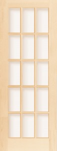 French Doors - Wood Dividers