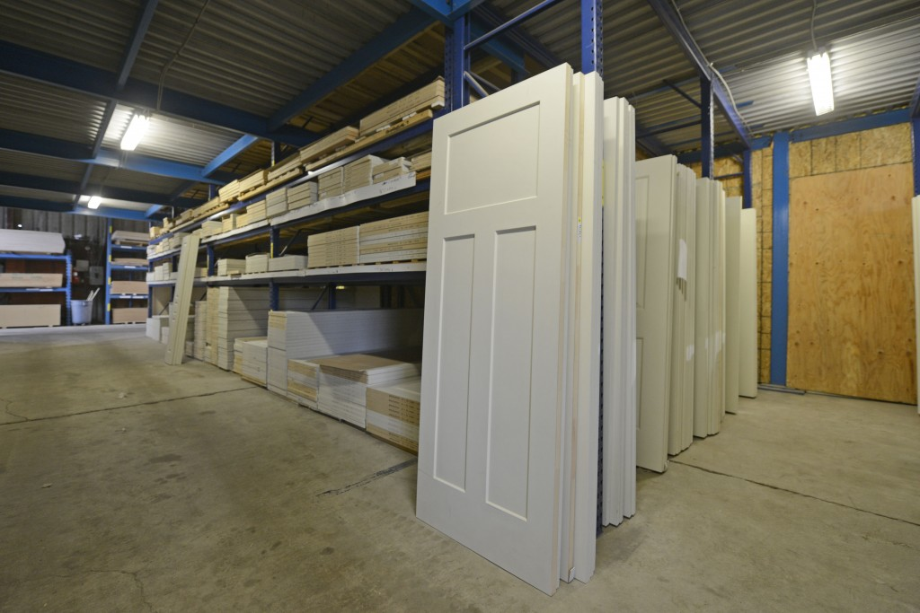 Not only does North Pole Trim have the largest selection of in stock doors, they also Machine to Match all Your Doors!