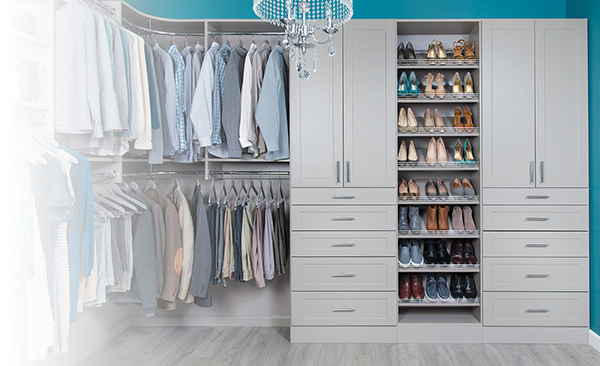 Storage Solutions Done Right | Organized Living Closet Systems | North Pole Trim & Supplies Ltd. - London ON