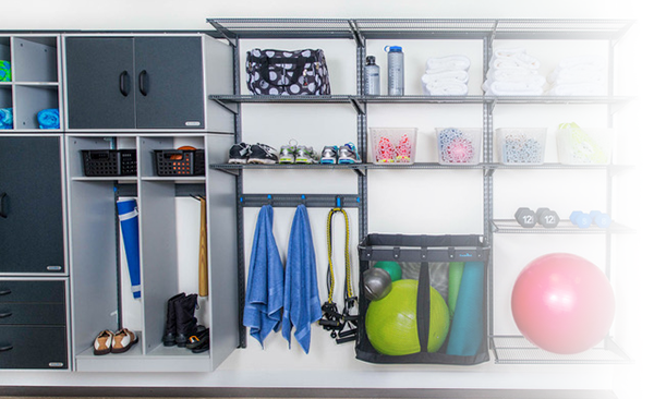 Organized Living Closet Systems | North Pole Trim & Supplies Ltd. - London ON